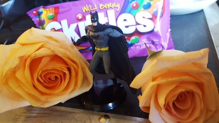 Batman and Skittles
